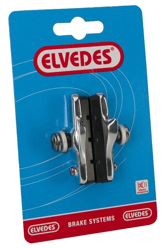 """Remblok Elvedes houder Race """"Shimano"""" 55mm (per set van 2)"""